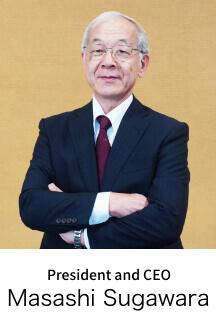 President and CEO Masashi Sugawara